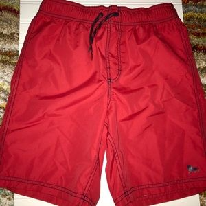NWOT Red Old Navy Boys XL swimsuit